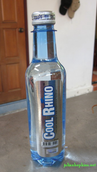Cool Rhino cooling drink with Gypsum fibrosum