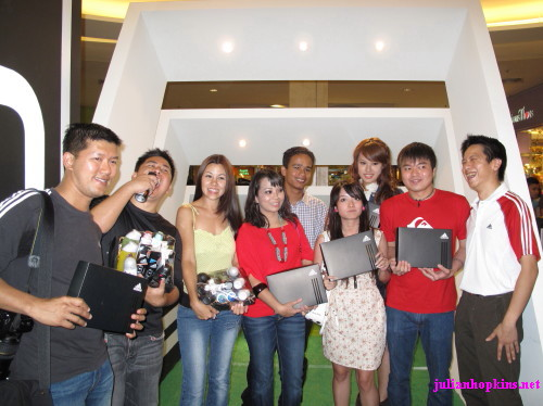 Bloggers at Project Alpha launch with Adidas