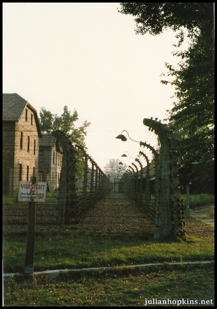 fence at Auschwitz I